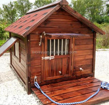 Waterproof outdoor wooden dog house large dog kennel dog house