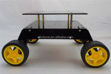 4x4 robot barrowload chassis 4wd hanging smart car platform