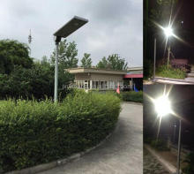 2017 best prices CCT 6000K of solar led garden light 30W