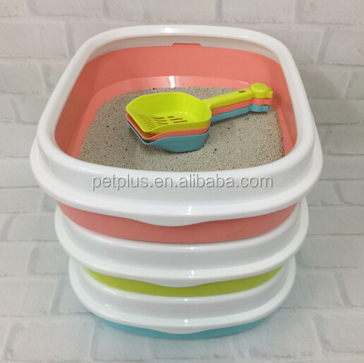 Pet Cat Toilets High Quality Scented Clumping Bentonite Cat Toilet Litter
