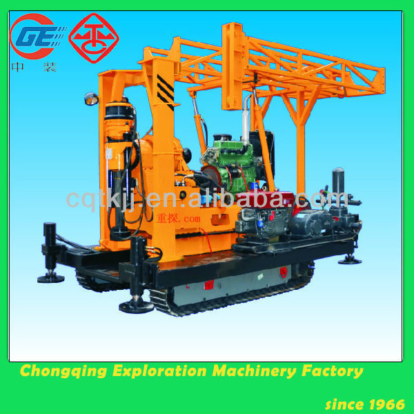 XY-2L crawler hydraulic water well ingersoll rand drilling rigs