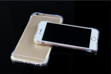 Fast selling merchandise transparent anti shock tpu phone case for iphone 6 6s 7plus