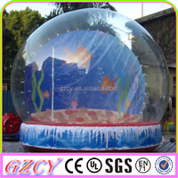 2014 Best Quality Inflatable Clear Dome Tent