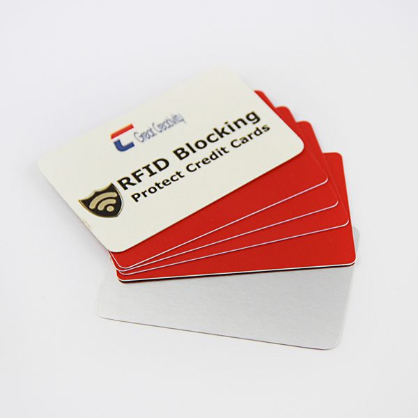 US & EURO MARKET EMV contactless Premium Credit Card Protector Sleeves