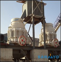 Best Quaulity Cone crusher in China from Shanghai SANYYO
