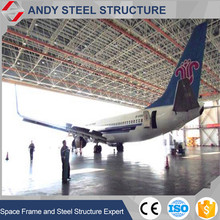 Direct manufacturer fireproof metal steel structre airplane hangar