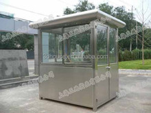 Low cost prefab Light steel sentry box kit for sale