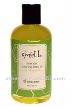 Lavender Soothing baby massage oil