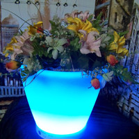 Die27 CM PE Plastic LED Lighted