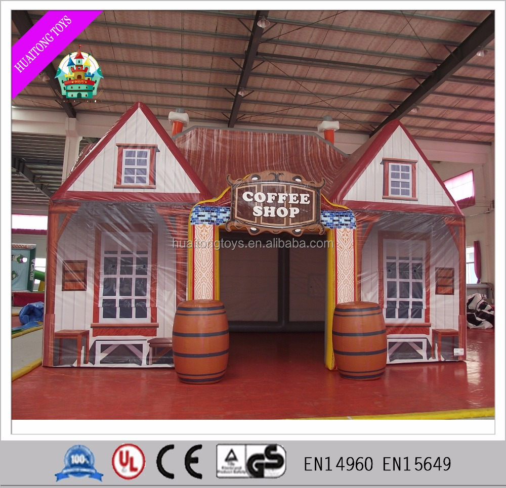 2016 Inflatable bar tent for sale/Outdoor inflatable tent house