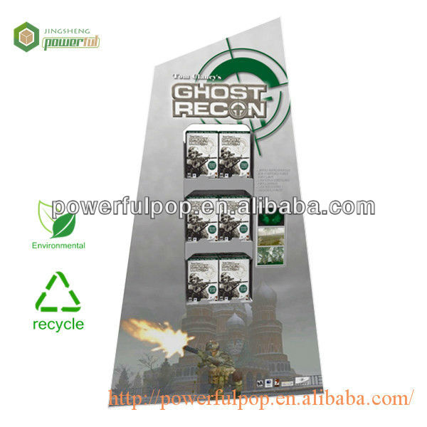 Hot Selling Ghost recon by travis kinnison POP advertising cardboard display