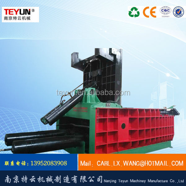 y81/f 1600 hydraulic beer can press machine baler(factory and supplier)