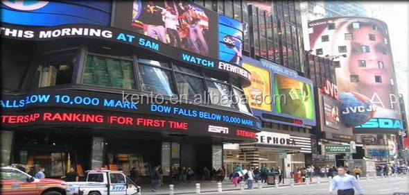 Outdoor Advertising Display Screen P10 1R 32*16 Led Module For Text
