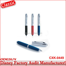 Disney Universal NBCU FAMA BSCI GSV Carrefour Factory Audit Manufacturer Touch Screen Stylus Ball Bearing Pen