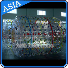 Discount and Popular Sunmmer Water Games, Inflatable Product,Inflatable Comercial Grade Water Roller Product