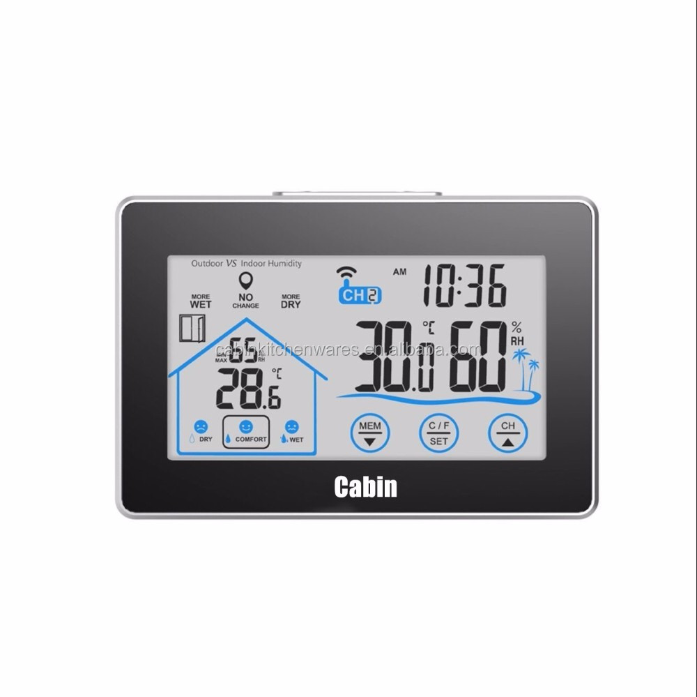 China Weather Station Digital Multifunction Temperature Humidity Meter With Clock Alarm Date Week Calender Htc 2 Manufacturers And Suppliers On Alibabacom