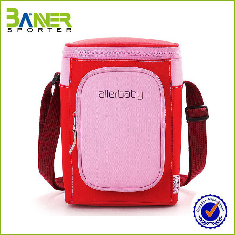 Customized breast milk fresh outdoor large capacity car ice bag picnic cooler bag