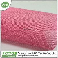 2015 China plain stiff mesh fabric for tent for bag