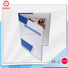 "4.3"" hardcover invitation lcd video greeting card"