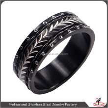 High Quality Hot Sale 316L or 304 Stainless Steel Designer Engineers Iron Ring