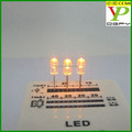 brand new transparent led diode red 5mm round yellow light led