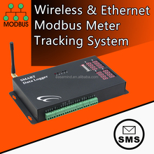 Wireless & Ethernet Modbus Meter Tracking System temperature humidity co2 sensor data logger 3g controller gsm