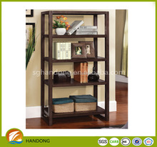 Japanese style tall bookcase/ display showcase solid pine wood