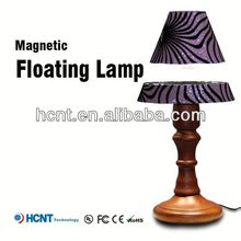 Best sell magnetic floating led lmap, metal art table lamp