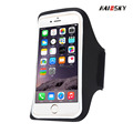 Haissky hot sale Lycra universal waterproof sport mobile armband for fitness and running