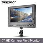 IPS 1024x600 câmera de vídeo display lcd SEETEC monitor de tv de 12 volts com entrada HDMI SDI