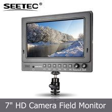 SEETEC IPS 1024x600 camera video lcd display monitor tv 12 volt with HDMI SDI input