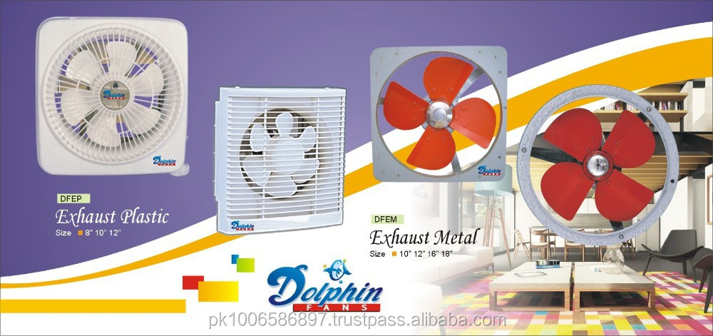 Pedestal and Exhaust Fans