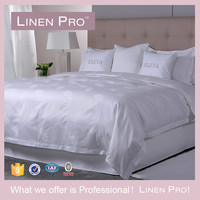 LinenPro Latest Double Bed Designs Egyptian Cotton Hotel Bed Sheet