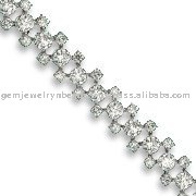 Solitaire Diamond Sterling Bracelets jewelry