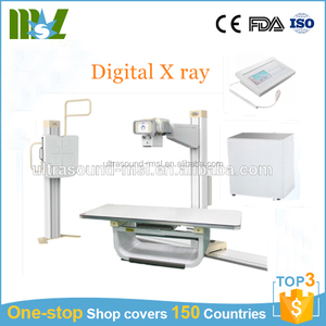High frequency digital radiography system 630mA/800mA x-ray machine MSLHX06
