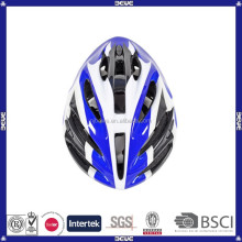 China supplier blue 16 vents PVC bicycle helmet