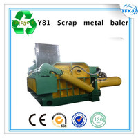 Y81F-1250 copper wire baling press machine hydraulic scrap rebar baler (High Quality)