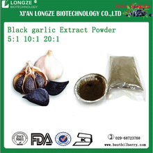 OEM factory Black garlic Extract Powder 5:1 10:1 20:1 with free sample