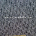 grey bodkin knit fabric for sweater 95%acrylic 5%polyester
