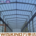 corrugated steel structure aircraft hangar finished warehouse