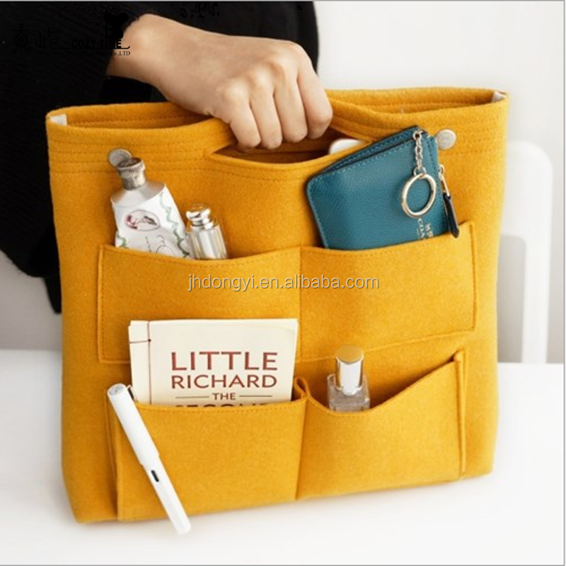 Best-selling felt women cosmetic bag for <strong>travel</strong>