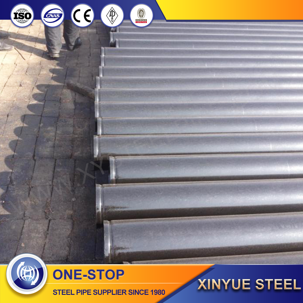 High Frequency Erw Welded Astm A53 Black Iron Carbon Large Diameter Steel Pipe