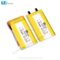 Shenzhen factory OEM rechargeable battery 3.7v 250mah 402025 for li polymer small helicopter,GPS,MP3,MP4 etc