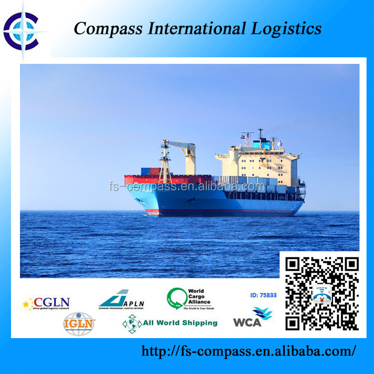 Free shipping container for forwarding ocean freight from China to CALDERILLA port Chile