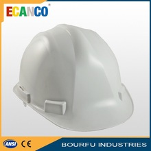 Wear Comfortable Red PP Safety Helmets For Construction
