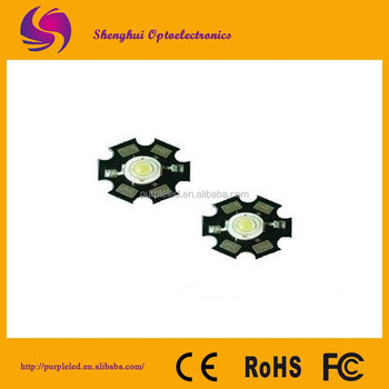 365nm-410nm Uhigh-power led Emitting Diode 1W/3W high power led light