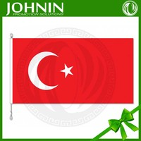 Top quality 3*5feet cheap promotion national flag of turkey
