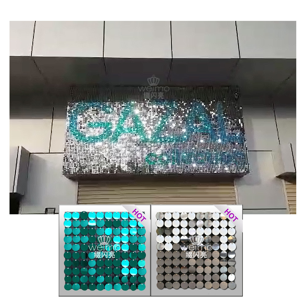 2017 New Glitter Outdoor Advertising Equipment Product Ideas