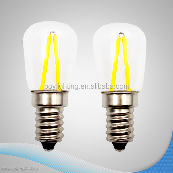 led clear glass filament bulb T22 C7 e14 e12 led sewing lamp dimmable led 1.5w