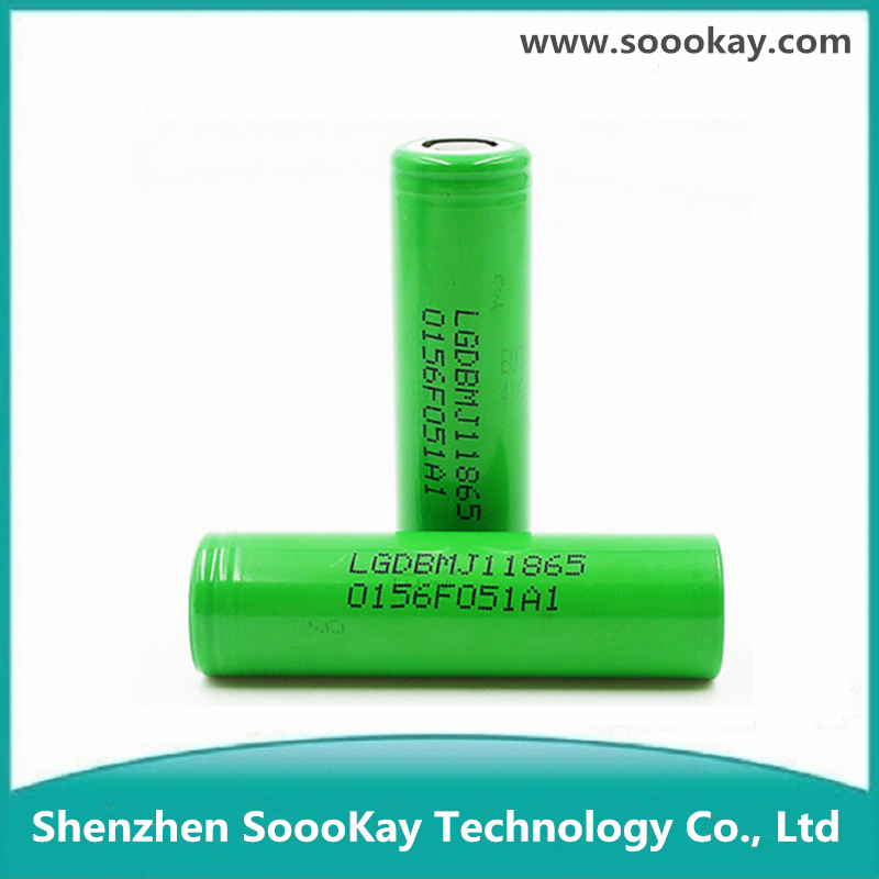 Original Lg MJ1 3500mah 18650 High Drain Li-ion Rechargeable Battery with 10a Max. Discharge